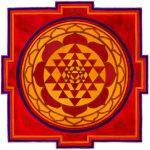 Sri Yantra Red